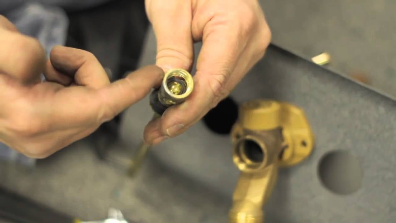 Fixing Faucets How to Repair a Leak in a Frost Proof Water Faucet ...