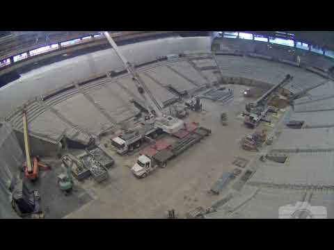 Watch All 124 Days of Philips Arena Construction in 97 Seconds