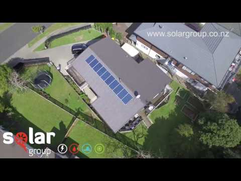 Solar Power Installation by Solar Group Ltd.  - Drone