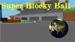 This is so hard to control | Roblox super blocky ball