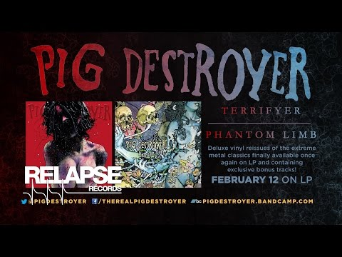 PIG DESTROYER   'Terrifyer' and 'Phantom Limb' Reissues (Official Trailer)
