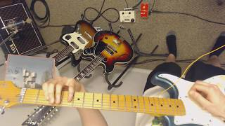 Unknown Mortal Orchestra - Bicycle (guitar playthrough)