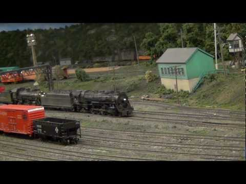 Lehigh Valley Railroad Steam at Allentown Yard (L&KV Model Railroad Museum)