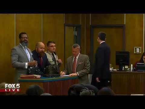 Earl Kimrey appears in court