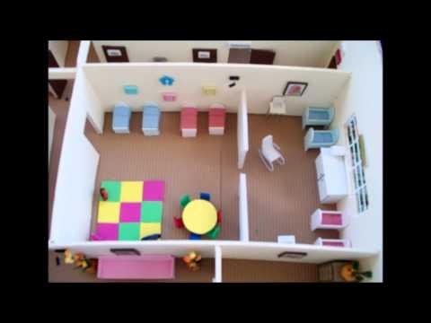 Maqueta cuido infantil youtube for Casas infantiles para jardin