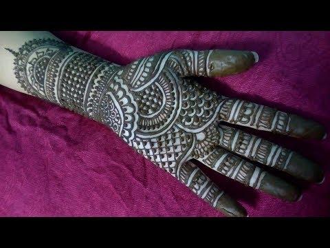 New Mehndi Design | Full Hand Mehndi Design for Dushera | Smriti Shrivastav | Divine Mehndi Arts thumbnail