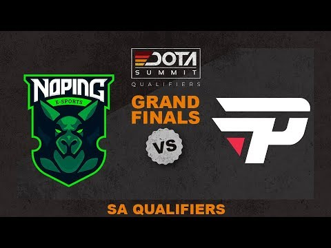 NoPing vs paiN Game 5 - Dota Summit 11 SA Qualifiers: GRAND FINALS