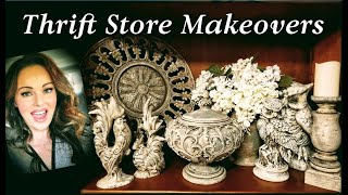 Thrift Store Makeovers With A French Country Old World Aged Chalk Paint Finish