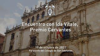 Encuentro con Ida Vitale, Premio Cervantes · 19/10/2021