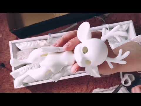 BJD Unboxing - Doll Leave Ida with Bodyblush and Face-up