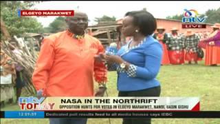 Nasa campaigns in Elgeyo Marakwet, Nandi, Uasin Gishu
