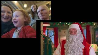 Pnp console. Father Christmas video with Quinn