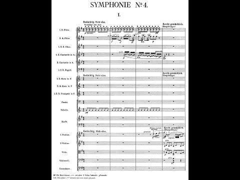 Mahler's 4th Symphony (Audio + Score)