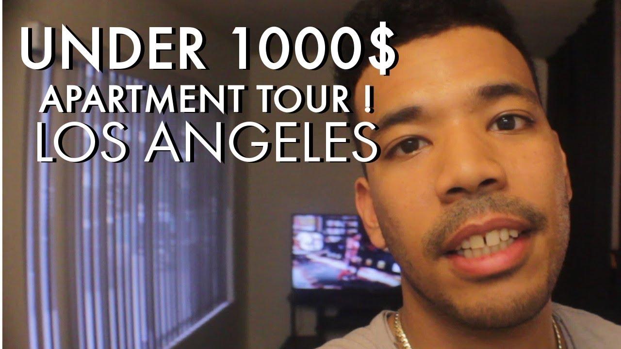 LA STUDIO APARTMENT TOUR ! (UNDER 1000$) - YouTube