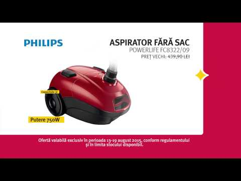 Reclama ALTEX Black Friday de Vara 2015 Aspirator Philips