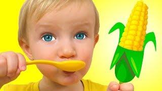 Да да овощи - Детская песня | Песни для детей от Кати и Димы