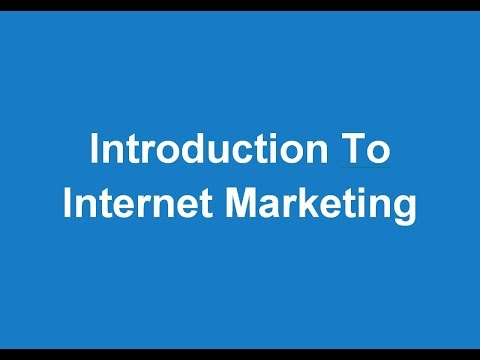 Introduction To The Internet Marketing Opportunity