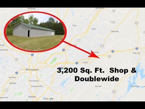3,200 Sq Ft Shop & Doublewide - Moody Alabama Schools