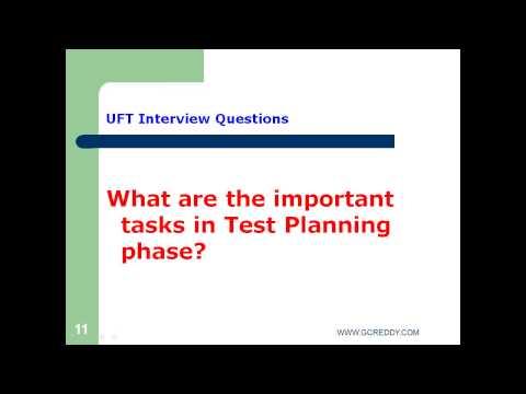 UFT Interview Questions