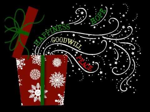 Musical Christmas Present Greeting Card