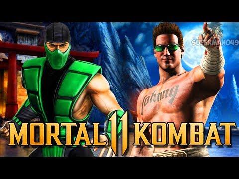 Mortal Kombat 11: Johnny Cage LEAKED, Reptile, Kung Lao & Super Moves! (Mortal Kombat 11) thumbnail