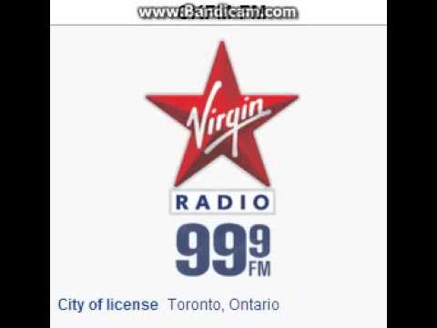 CKFM-FM 99.9 Virgin Radio Toronto, ON TOTH ID at 3:00 p.m. 6/21/2014