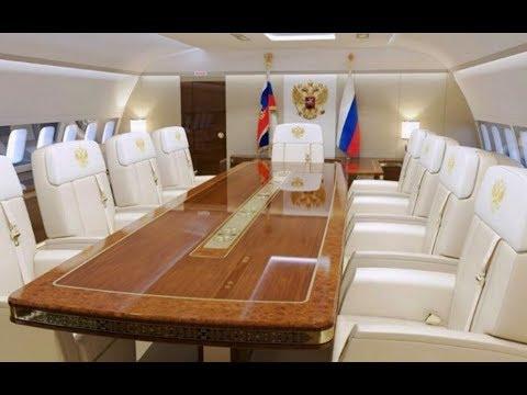 L'Air Force One Russe (L'avion présidentiel de Vladimir Poutine)