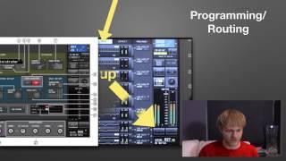 Basic Yamaha QL1 presentation | Thomas James Munro
