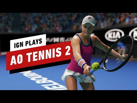 40 Minutes Of AO Tennis 2 Gameplay In 4K - IGN Plays