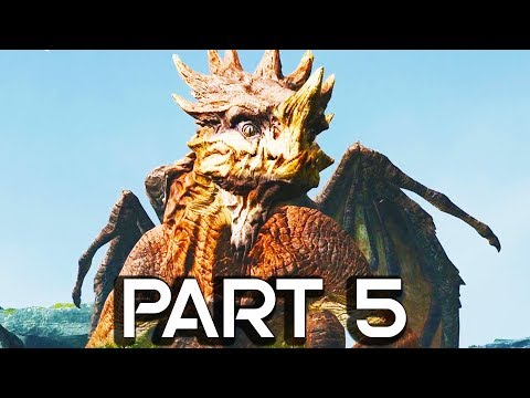 GIANT DRAGON IN GOD OF WAR 4!! Walkthrough Part 5 - GOD OF WAR GAMEPLAY!! (PS4 PRO 60FPS) - 동영상