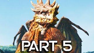 GIANT DRAGON IN GOD OF WAR 4!! Walkthrough Part 5 - GOD OF WAR GAMEPLAY!! (PS4 PRO 60FPS)