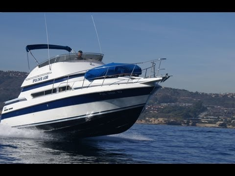 Carver  Santego Boat Underway Video by South Mountain Yachts (949) 842-2344