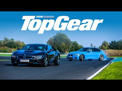 bmw i8 vs bmw m3 test eng subs topgear polska youtube. Black Bedroom Furniture Sets. Home Design Ideas