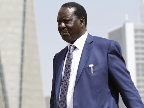 NASA leader, Raila Odinga jets to Kisumu ahead of the NASA rally in Kakamega