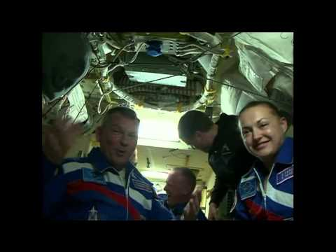 Expedition 41/42  Launches, Arrives, and Enters the International Space Station