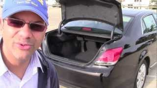 2012 Toyota Avalon Test Drive & Car Review