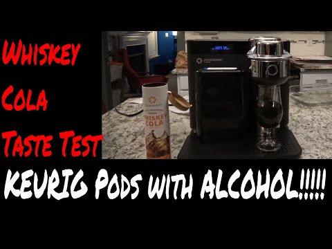Drinkworks Home BAR by KEURIG - Whiskey COLA - How does it taste? Pods like the coffee machine