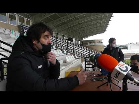 Jornada 20. Aitor Zulaika, tras el encuentro Real Unión-Racing