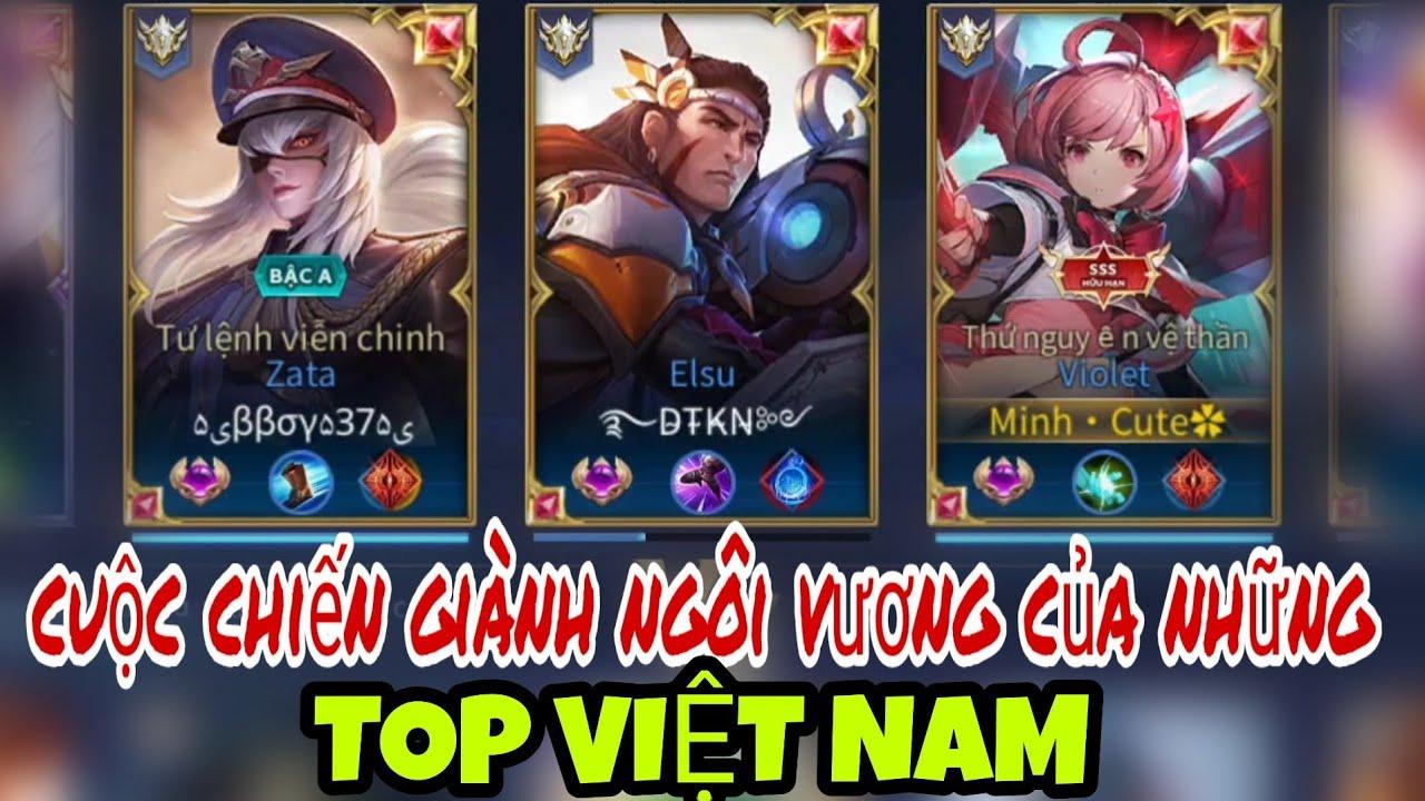 HÀNH TRÌNH CHINH PHỤC TOP BXH VIOLET BẰNG NICK FAN - LẬT KÈO CĂNG NÃO LỌT TOP 12 SEVER VIỆT NAM