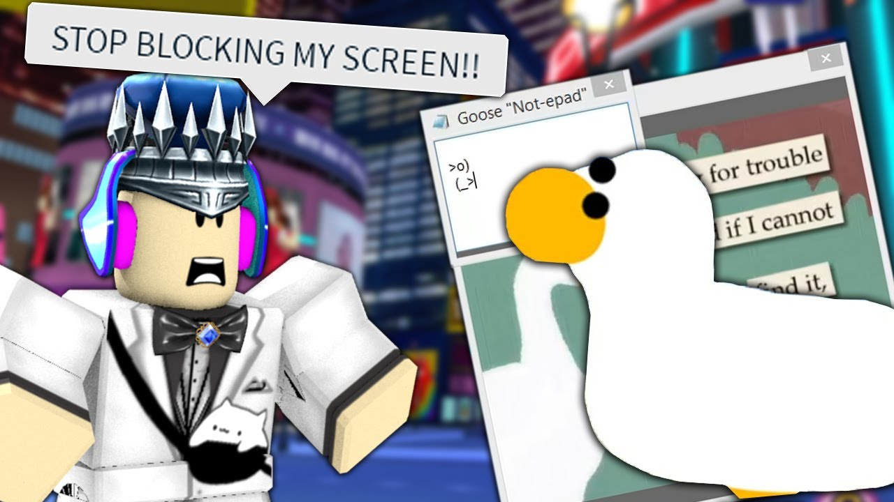 RoBeats with GOOSE VIRUS?! (RIP Cursor) - Roblox