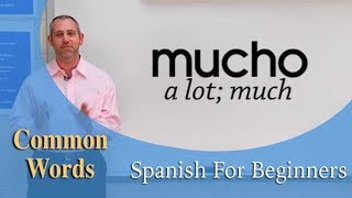 Common Words in Spanish | Spanish For Beginners (Ep.18)