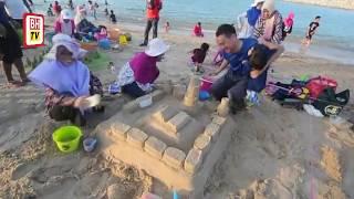 Kreatif bina istana pasir