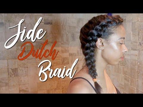 side-dutch-braid-|-straightened-natural-hair
