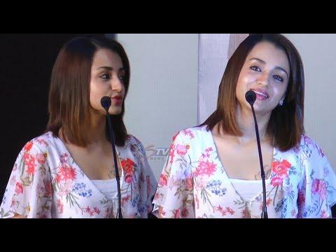 Actress Trisha speech at 96 Movie Press Meet |Vijay Sethupathi,  Govind Vasantha, C. Prem Kumar |STV