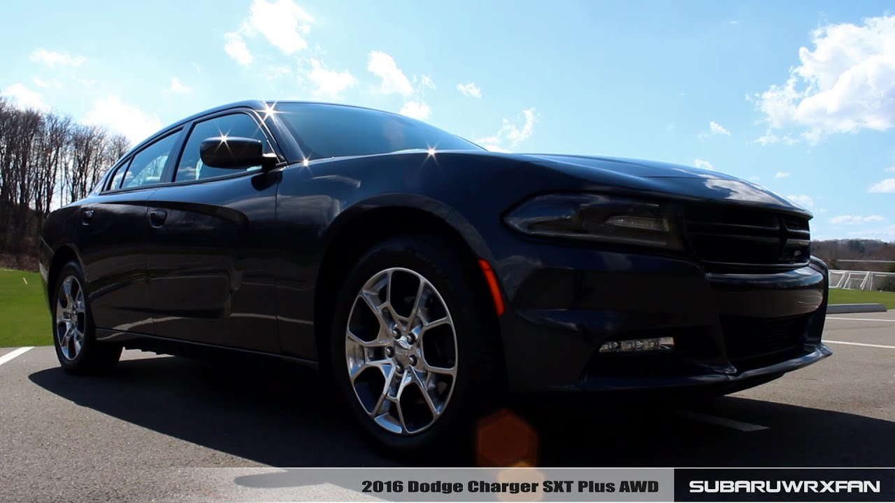 review 2016 dodge charger sxt plus awd youtube. Black Bedroom Furniture Sets. Home Design Ideas