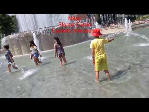 Europe Trip 2017 -- Milan Sforza Castle