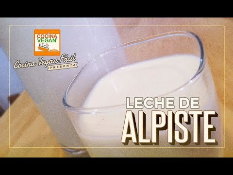 Leche de alpiste (para la pérdida de peso) - Cocina Vegan Fácil