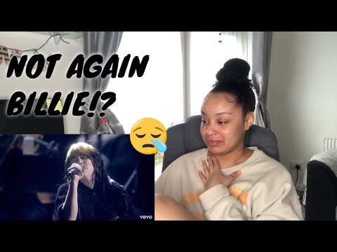 UK REACTION🇬🇧.. Billie Eilish - No Time To Die (Live From The BRIT Awards, London)