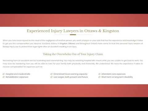 Auto Accident Lawyer Kingston ON - Barapp Personal Injury Lawyer
