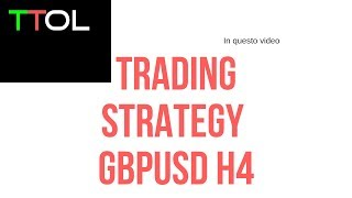 Forex Factory Strategy : GBPUSD 4H/DAILY